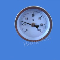 Industrial Usage Pipeline Bimetal Thermometer With