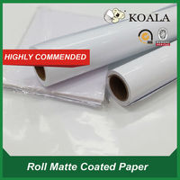 a4*50 sheets inkjet cast coated glossy photo paper 108g for large format printer factory supplier