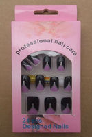 New design artificial nail art tip/french nail tips