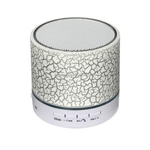Portable Mini LED Speakers Wireless Small Music Audio TF USB FM Light Stereo Sound Speaker For Phone