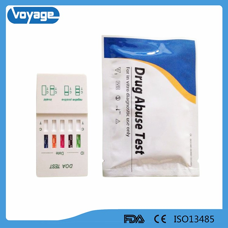 One step Multi drug rapid test ,with drug of abuse test