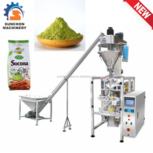 Green Tea Powder Pouch Packaging Machinery