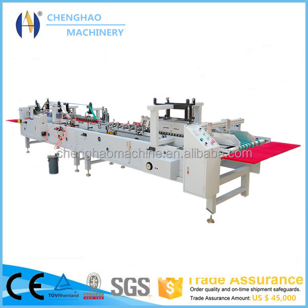 chenghao brand Machine for gluing of corrugated box flap