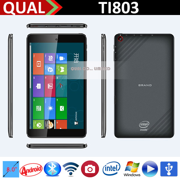 2015 NEW 8 inch 1280x800 ultra slim windows tablet Q