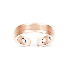 Elegant Titanium Magnetic Therapy Ring Pain Relief for Arthritis and Carpal Tunnel copper ring
