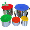 Multi-functional 4/5/6 Pack Reusable Silicone Stretch Lids, Silicone cup lid,Silicone pot lid set