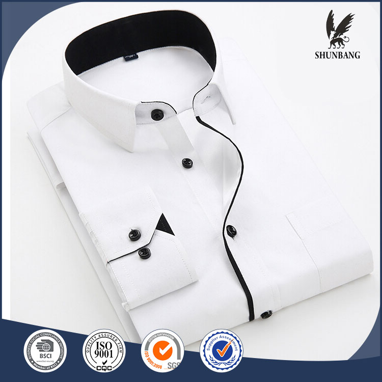 Fancy design multicolor men custom cotton non-iron oxford casual dress shirt