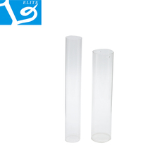 ELITE Clear Packaging Transparent Round Plastic Tube