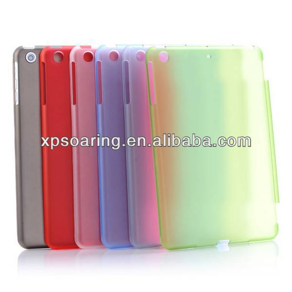 Matt smart cover pc case For ipad Mini 2