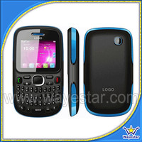2.0 inch Qwerty Keyboard GSM Quad Band 2 Sim Mobil Telefon with FM BT ATV