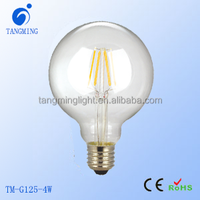Newest Design Led lights 3w/4w/6w/8w shadowless dimmable globe led filament bulbs for home