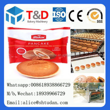 2017 Hot sale-- T&D Bakery equipment plant full automtic dorayaki machine industrial mini pancake maker plant factory China