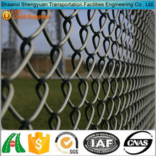 Hot sale used black chain link fence panel price