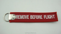Promotional remove before flight key tag