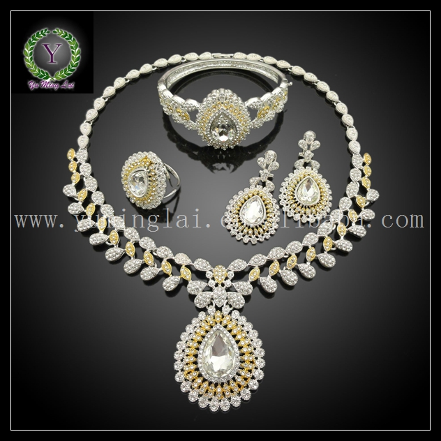 New model wedding jewelry sets wedding women jewelry set