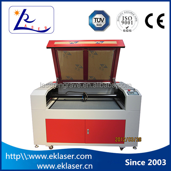 1290 Wood Cloth Leather Rubber Acrylic laser cutting machine / acrylic laser cutter 1290