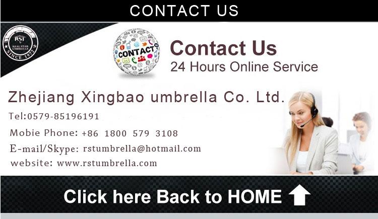 RST black windproof bent handle 3 folding umbrella brazil umbrella