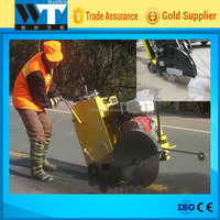 concrete pavement joint cutting machine road cutter concrete cutter machine