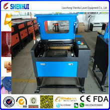 80W / 100W Fabric / Plexiglass / Wood Acrylic Crafts / Signboard CNC CO2 Laser Cutter Engraver for sale