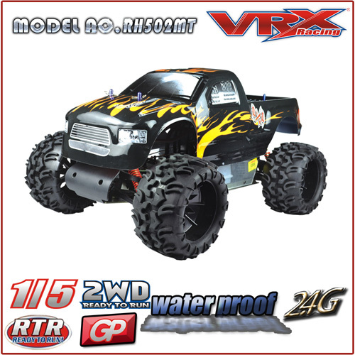 1/5th scale 2WD Gas Powered RTR Truggy,Blaze Monster 4wd gas Truck