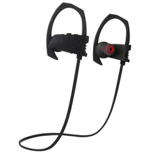 Best quality great sound leather design sport stereo bluetooth headset