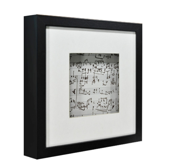 40x40 Black Matted Flat Shadow Box Frame Photo Frame Buy