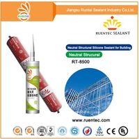High quality transparent structural silicone sealant for concrete joints