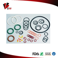 different material rubber o-ring