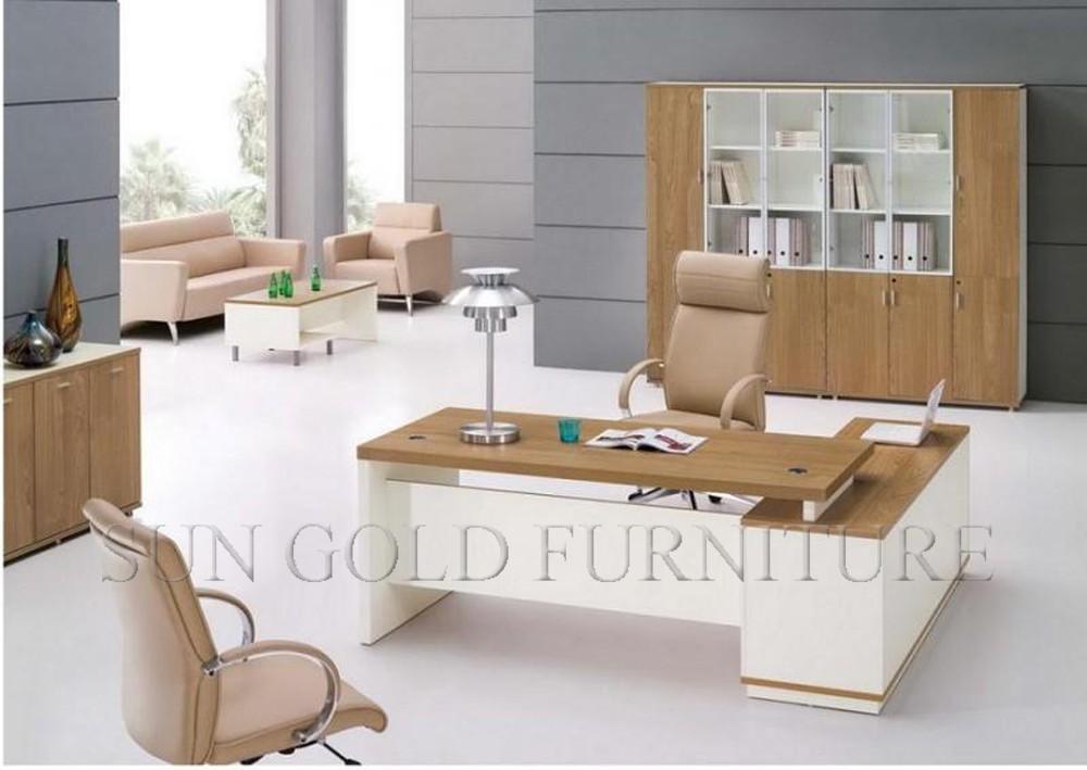Elegante y de lujo muebles de oficina mdf extractor blanco reposteria
