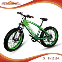 buy bicycle china 2017 new model big power 1000w fat tire 26'' electric mountain bike