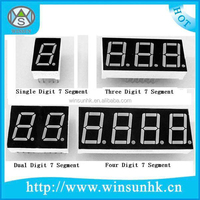 2016+ High Quality Red,Yellow,Blue,Green,White Digit LED 7 Segment Display