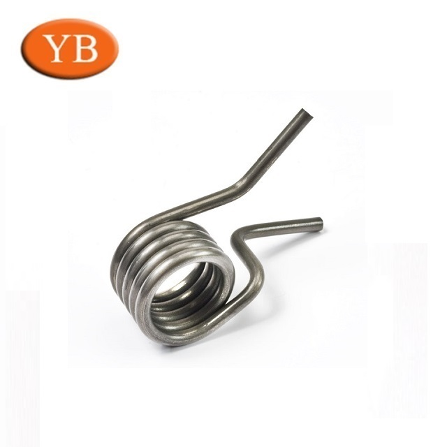 custom made chrome plated dust collector torsion springs with hook