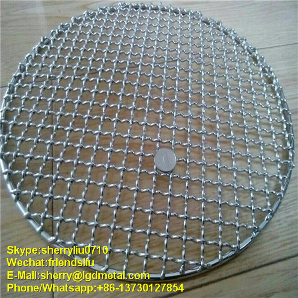 Bbq Grill Mesh / Round Mesh / Barbecue Grill Mesh (free sample)------BBQS084