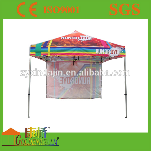 Full colour printing portable rust resistant aluminium frame winter party tent canopy