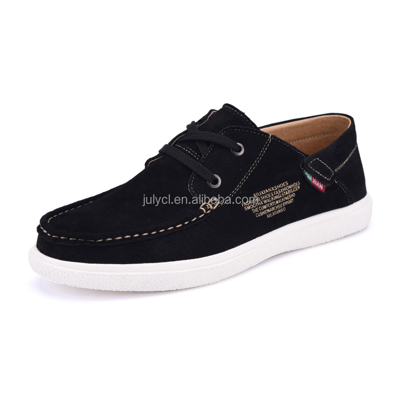 2016 Fashion New Model Canvas Leather Men shoes for Lahore Pakistan