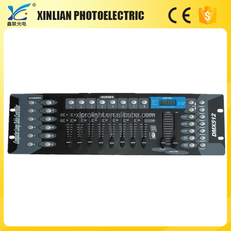 Stage lighting / Professional Lighting Control Console 192 Dmx controller