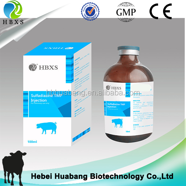 Hot Sale Product Sulfadiazine + TMP injection inflammatory bowel disease