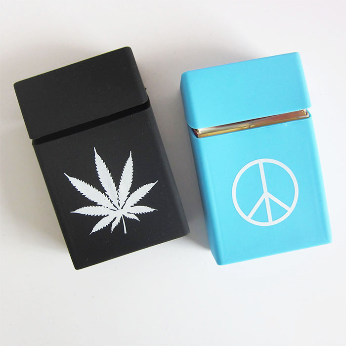 hot sell silicone cigarette case pack 20pcs silicone tobacco pouch