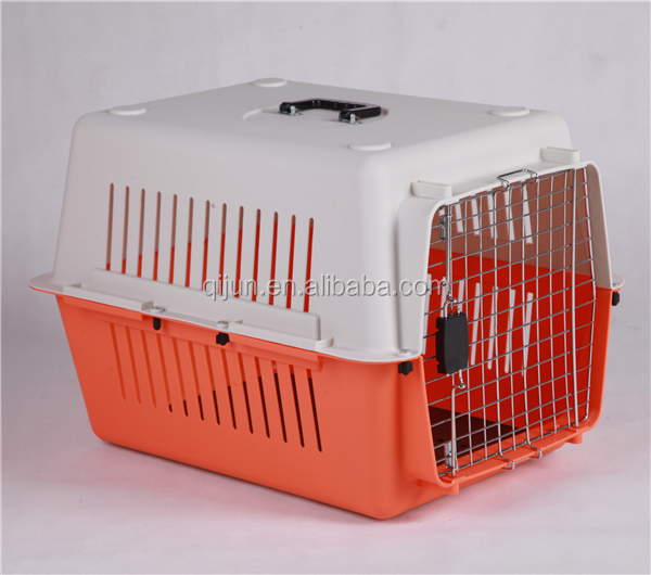 Pet transport box convenient plastic dog cage