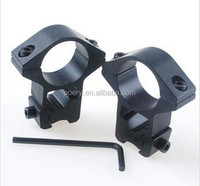 25.4mm Ring 11mm Dovetail Rail Mount High Profile Fit Scope/Lasers/Flashlight M2004