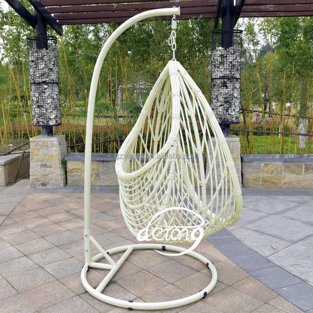 Pe rotin jardin suspendu oeuf chaise pas cher prix patio - Chaise oeuf suspendu ...