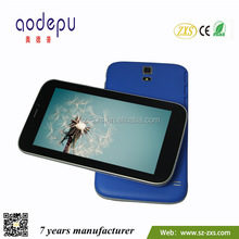 "ZXS-7-Dual Sim Cord-S5 Cheap Dual Core 7"" 3G/2G Tablet PC 3G Sim Card Slot Android Phone"