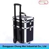 2017 Hot Selling New Style Beauty Rolling aluminum Cosmetic Case
