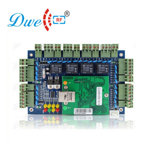 TCP/IP 4 doors access control board with free software
