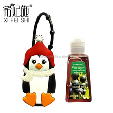 Cute animal shaped hand sanitizer with silicone holder/DIY mini silicone sanitizer holders