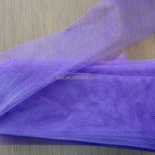 flat plastic mesh bag for packaging