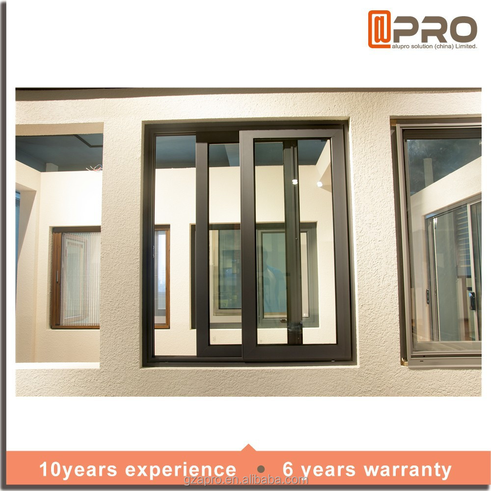 Fashional design sliding window grill design pictures of china supplier