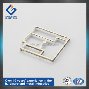 0.2mm mobile silver nickel RF laser marking shielding case cover,in tray or tape and reel