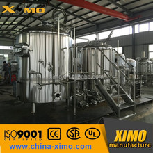 Beer Brewhouse/Micro beer brewery /Red Copper Commercial Beer brewing Equipment