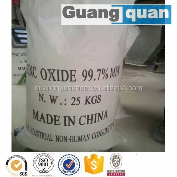 Superfine Powder 1314-13-2 Zinc Oxide Coating and Paints Grade 99.7%